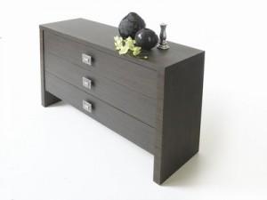 moderná komoda z drevotrieskovej dosky