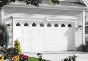 Klasická garážová brána