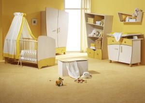 Detská izba v jednoduchom dizajne