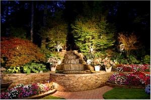 zahradne svetlá