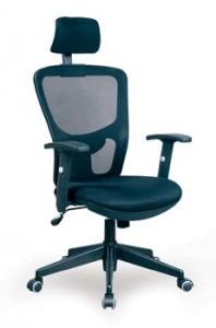 kancelárske kreslá-KA-2603 BK
