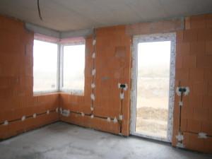 Vymena okien v zateplenom dome